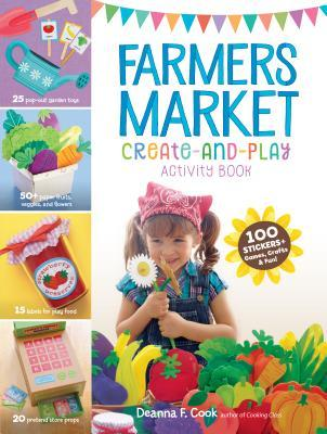 Farmers' Market: A Play & Learn Activity Book