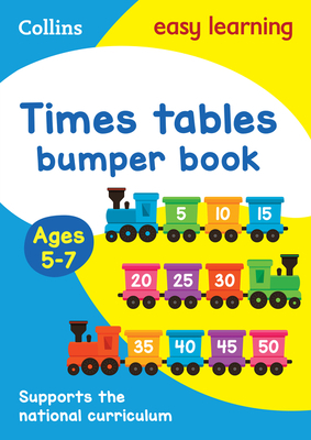 Collins Easy Learning Ks1 - Times Tables Bumper Book Ages 5-7