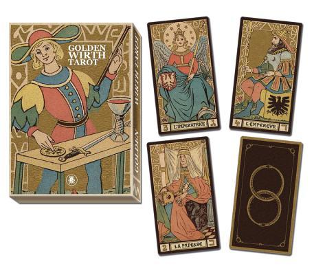 Golden Tarot of Wirth Grand Trumps