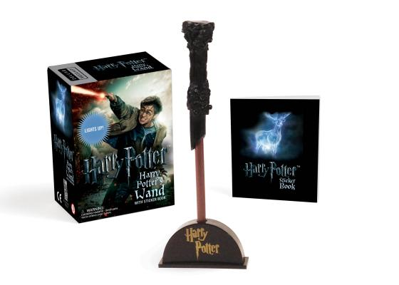 Harry Potter Wizard's Wand with Sticker Book: