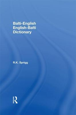 Balti-English / English-Balti Dictionary