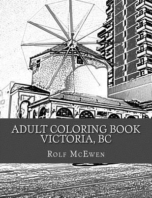 Adult Coloring Book: Victoria, BC