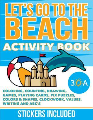 30a Let's Go to the Beach Activity Book & App