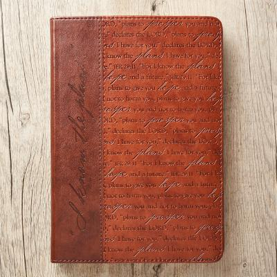Journal Lux-Leather I Know the Plans Brn Jer 29:11