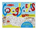 Wacky Animals - Googly Eyes Coloring Pad Wacky