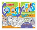 Wacky Faces - Googly Eyes Coloring Pad Wacky Faces