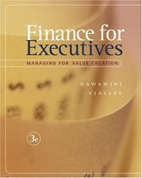 Finance for Executives.Managing for