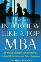 How to Interview Like a Top MBA: Job-Winning
