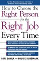 How to Choose the Right Person for the Right Job