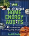 Do-It-Yourself Home Energy Audits: 140 Simple