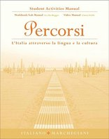 Student Activities Manual for Percorsi: