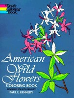 American Wild Flowers Coloring Book