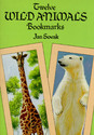 Twelve Wild Animal Bookmarks