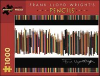 Frank Lloyd Wright's Pencils 1000-Piece