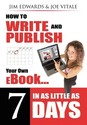 How to Write and Publish Your Own eBook in as