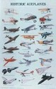 Historic Airplanes Poster